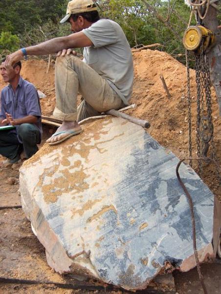 extraccion de minerales gigantes