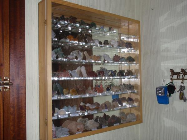 Fmf foro de mineralog a formativa ver tema vitrinas - Vitrinas de pared para colecciones ...