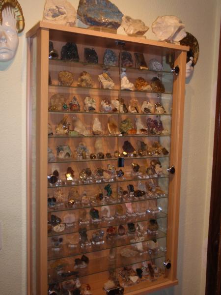 Fmf foro de mineralog a formativa ver tema vitrinas - Vitrinas para miniaturas ...